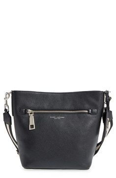 MARC JACOBS 'Gotham' Leather Bucket Bag. #marcjacobs #bags #shoulder bags #leather #bucket