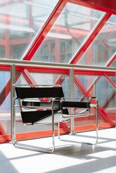 "federicotorra: "" Marcel Breuer, Wassily Chair """