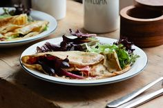 buckwheat crepes ( + serving ideas, sweet and savory) | london bakes