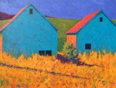 """Flatlanders"" 48 x 36 oil on canvas."