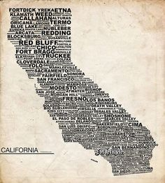 California - this is my state!