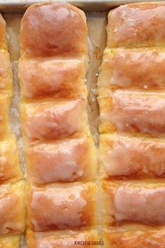 Drożdżówki z serem - Przepis