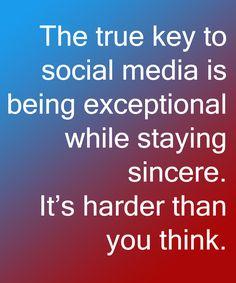The Key to Social Media