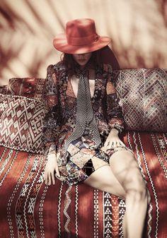 Freja Beha Erichsen - Glen Luchford Photoshoot for Vogue Magazine UK, June 2015