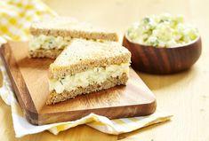 English Tea Sandwiches, Tee Sandwiches, Cucumber Tea Sandwiches, Finger Sandwiches, Blue Zones Recipes, Zone Recipes, Sandwich Recipes, Salad Recipes, Vegetarian Sandwiches