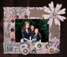 frame decorated love the idea