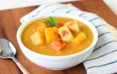 Cut through the cold with a nice hot bowl of healthy soup. Choose from Roasted Winter Vegetable Chowder and Cabbage Roll Stew!