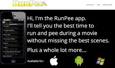 RunPee - Find Out the Best Time During a Movie to Run and Pee