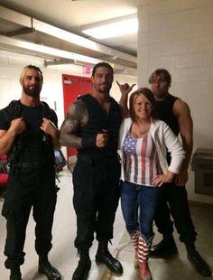 Roman Reigns backstage photos | Roman Reigns (Leakee)