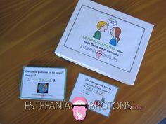 Expresión Oral - La Preguntadoteca Spanish Classroom, Educational Games, Language, School, Posters, Books, Ideas, Speech Pathology, Conversation