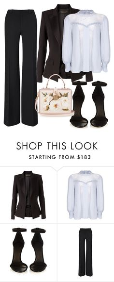 """""""Untitled #203"""" by ivana-j ❤ liked on Polyvore featuring Alexandre Vauthier, Ghost, Isabel Marant, Roland Mouret and Dolce&Gabbana"""