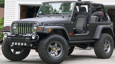 Jeep Wrangler Unlimited-other than the chrome and not being a rubicon... It's my Jeep!