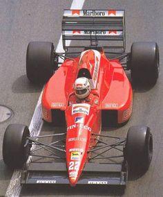 Andrea de Cesaris (Dallara 189) BMS Scuderia Italia 1989