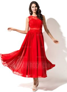 Deal From Amormoda A-Line/Princess Tea-Length Chiffon Charmeuse Lace Homecoming Dress With Beading Flowers for $125.99 with Free Shipping Worldwide http://www.dealwaves.com/product/A-LinePrincess-Tea-Length-Chiffon-Charmeuse-Lace-Homecoming-Dress-With-Beading-Flowers-007051487-007051487.html