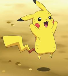 Cute Pikachu - First Pokémon of Ash Ketchum and also mascot of the Pokémon franchise (which franchise is the world's 2nd largest). High originality level.