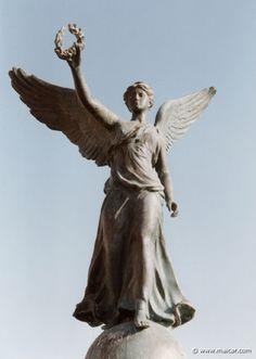 Greek Mythology Gods sculpture | Nike. 2026: Statue in Rhodes.