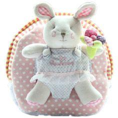 Toddler Bag, Baby Backpack, Pink Rabbit, Cute Babies, Infant, Teddy Bear, Backpacks, Dolls, Canvas