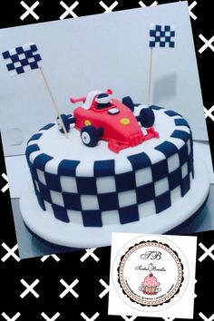 Racing car cake/ torta de auto de carrera