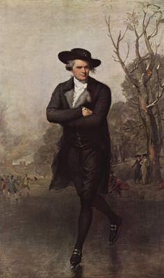 The Skater - Gilbert Stuart