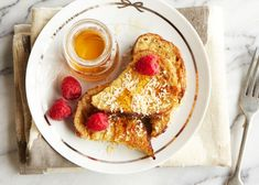 Breakfast inspiration: coconut French toast.