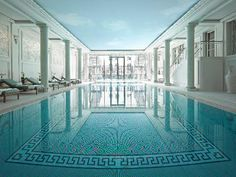 "Shangri-La Hotel Paris Paris, France ""...this is 'la pièce de résistance'...few Parisian hotels have a real swimming pool...this one is truly amazing..."""