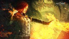 The Witcher 2 Assassins of Kings The Witcher Triss Merigold #1080P #wallpaper #hdwallpaper #desktop The Witcher Game, The Witcher Wild Hunt, The Witcher Geralt, Ciri, Triss Merigold, Latest Hd Wallpapers, Desktop Wallpapers, Fantasy Male, Magic Art