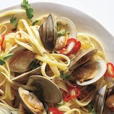 Spicy Linguine With Clams Recipe (via foodily.com)