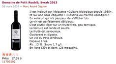 SAQ Biologique, Marie, Drinks, Bottle, Wine, Drinking, Beverages, Flask, Drink