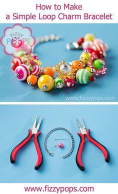 f421f311299 Simple Loop on Bracelet courtesy of www.fizzypops.com. Visit us for all