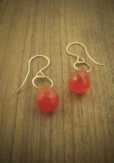 MJM carnelian earrings