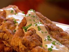 Chicken Fried Steak with Gravy Recipe : Patrick and Gina Neely : Food Network - FoodNetwork.com
