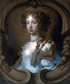 Lady Frances Norcliffe by Peter Lely, 1670s