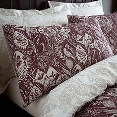 Willow Plum Bed Linen Collection | Dunelm