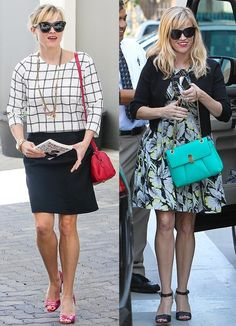 Which of Reese Witherspoon's Black & White Outfits Do You Prefer? |  $120 BUY ➜ http://shoespost.com/reese-witherspoons-style-sandals/ Did you know that Reese Witherspoon has a production company? It's like every A-list celebrity in Hollywood is doing some sort of behind-the-scenes gig these days. I hear she's set to produce and star in a movie with Nicole Kidman. The film is reportedly an adaptation from best selling boo...
