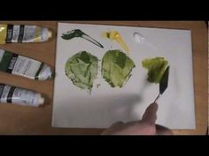 How To Paint Using The Palette Knife - YouTube