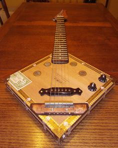 Cigar Box Guitars and other musical creations (EBCBGuitars) Made to Order on Etsy, $250.00