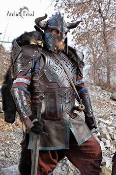 Dwarf Leather Armor by Feral-Workshop on DeviantArt