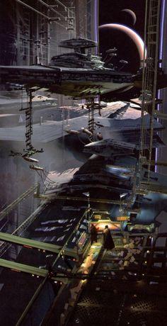 Star Wars - Imperial Shipyard