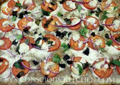 Dr. Sebi Alkaline Electric Margarita Pizza