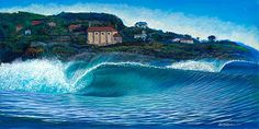 Clark Takashima > Surf Artist Exhibit | Club Of The Waves