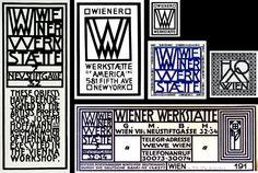 atelier Wienner Werkstatte image de marque identité visuelle