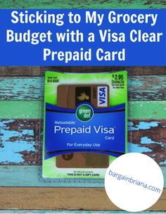 Sticking to a grocery budget is made easier using the VisaClearPrepaid card. #AD LINK: http://bargainbriana.com/sticking-to-my-grocery-budget-with-a-visa-clear-prepaid-card/