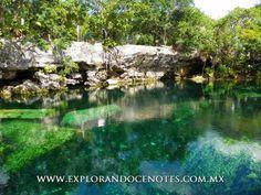Cenotes para conocer: -- Cenote Cristal --