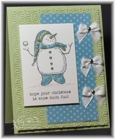 SC359 Snow Much Fun by stampercamper - Cards and Paper Crafts at Splitcoaststampers