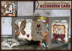 Bigz Accordion Album plus Bigz Frame & Label, Bracket dies and NEW Label Stitched Framelits (Snippets)
