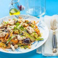 Healthy Tahini chicken salad