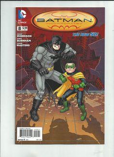 BATMAN INCORPORATED #8 Variant by Chris Burnham! Death of Robin! 1st print! NM http://r.ebay.com/cHQs7D