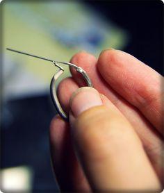 bijougirl etc.: Hinged Hoop Earrings