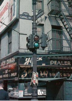 New York City, April 1960