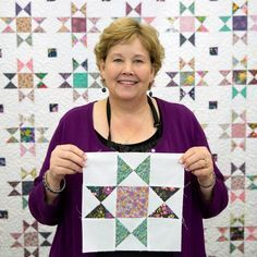 This is such an easy way to make the Ohio Star Quilt! Free Video Tutorial with Jenny Doan from Missouri Star!